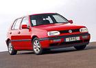 Evropské Automobily roku: Volkswagen Golf (1992)