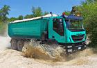 Stavební vozidla: Trakker + Eurocargo 4x4