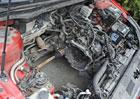 Zbytečná výměna agregátu hyundaie: Motor v kufru. Proč?