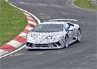 Spy video: Odlehčené Lamborghini Huracán Superleggera už pilně testuje