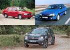 Dacia v nové době: Od licenčních renaultů k úspěchům napříč Evropou