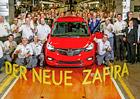 Opel zahájil výrobu modernizovaného modelu Zafira