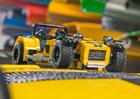 Caterham Seven 620R vzorem pro stavebnici Lego