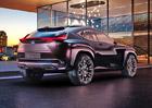 Lexus UX Concept: Třetí rozměr a hologramy