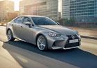 Lexus IS v modernizované podobě pro Evropu