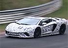 Video: Nové Lamborghini Aventador už pilně testuje na Nürburgringu