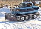 Ruský samodomo crossover: Lada, tank a rolba v jednom!