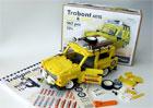 Kupte si expediční Trabant 601 z Lega. Světový unikát sestavil český nadšenec