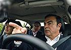 Carlos Ghosn si vyzkoušel autonomní jízdu. Byl nadšený?