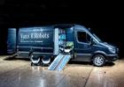 Mercedes-Benz Vans investuje do rozvážkových robotů (+video)