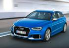 Audi RS 3 Sportback prošlo faceliftem. Pětiválcová střela nabízí 400 koní!