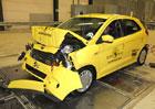 Euro NCAP 2017: Fordu Ka+ se zrovna nedařilo