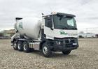 Renault Trucks C8x4 Tridem jako obratný domíchávač betonu