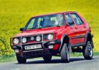 VW Golf Country (1989-1991): První crossover? Kříženec hatchbacku a teréňáku věštil budoucnost