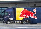 Renault Trucks dodal nové tahače T 520 High pro Red Bull Racing