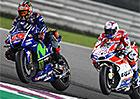 Motocyklová VC Kataru 2017: MotoGP vyhrál po boji s Doviziosem Maverick Vińales