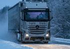 Daimler Trucks experimentuje s umělým denním světlem v kabině