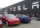 Tržní hodnota výrobce elektromobilů Tesla se přiblížila GM