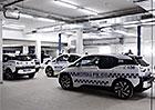 Podívejte se, jak se upravovaly elektromobily BMW i3 pro policii