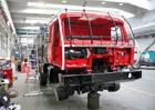 """Tatra a pokračování renovace T 815 6x6 VE """"Ostrý II"""" z rallye Paříž-Alžír-Dakar 1986"""
