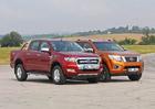 Ford Ranger 3.2 TDCi vs. Nissan Navara 2.3 dCi – Vidle i kravata