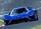 Elektrický supersport Nio EP9 byl na Nordschleife rychlejší než Huracán