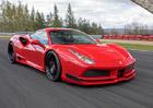Autodrom Most je stylovou kulisou pro nové Ferrari 488 GTB N-Largo od Novitec Rosso