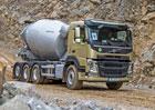 Domíchávače betonu: Volvo