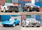 Kupte si sbírku legendárních rallye aut. Zahrnuje Stratos i speciály Skupiny B