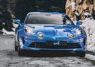 Alpine A110 na Goodwood Festival of Speed v akci spolu s historickými příbuznými