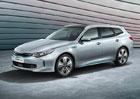 Kia Optima Sportswagon se stává plug-in hybridem. Levná ale není