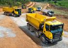 Vozidla Scania pro stavbu: Všechny typy