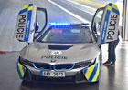 Policie má zpátky BMW i8. Úplně nové, opět na půl roku. Nehoda se stále vyšetřuje