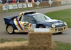 Pro Ford RS200 akce v Goodwoodu nehodou neskončila. Opravili ho přes noc!