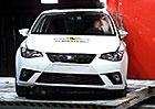 Euro NCAP 2017: Seat Ibiza – Pět hvězd, i když se zaváháním