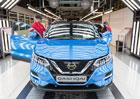 Nissan začal vyrábět modernizovaný Qashqai. Prodej odstartuje již tento měsíc