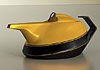 Neobvyklá oslava: Na počest 40 let Renaultu v F1 vznikla... stylová čajová konvice!