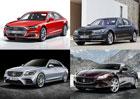 Nové Audi A8 jsme srovnali s konkurencí. Kdo je větší a kdo nabízí jaké motory?