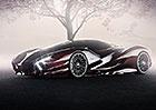 Jaguar X Concept: Vize novodobé XJ220. Z Bratislavy!