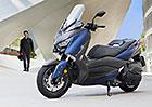 Yamaha modernizuje největší z řady sportovních skútrů X-Max