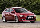 Ojetý Mitsubishi Lancer (CY, CX): Když lancer, tak benzin!
