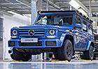 Legenda slaví. Podívejte se, jak se vyráběl jubilejní Mercedes-Benz třídy G