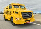 Mercedes-Benz a obrněná nákladní vozidla pro Prosegur
