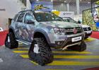 Renault Duster jako sanita a drsný pásový obrněnec pro armádu