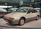 Volkswagen Auto 2000: Takto si VW představoval v roce 1981 auto pro rok 2000