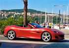 Ferrari Portofino poprvé na veřejných silnicích! Ve Slovinsku s ním točí reklamní spot