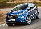 Ford EcoSport: Nová příď, turbodiesel, dvoubarevný lak a ST-Line pro Evropu