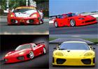 Ferrari a závodní speciály odvozené od sériových modelů (2. díl)