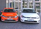 VW podporuje elektromobilitu i u nás. Zdarma půjčí 50 elektrických Golfů. Ale komu?