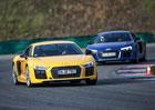 Audi driving experience: Když se sejde R8 a RS5…